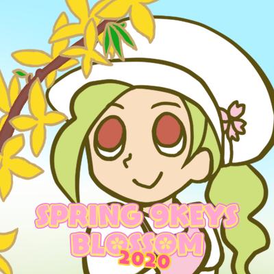 SPRING 9KEYS BLOSSOM 2020